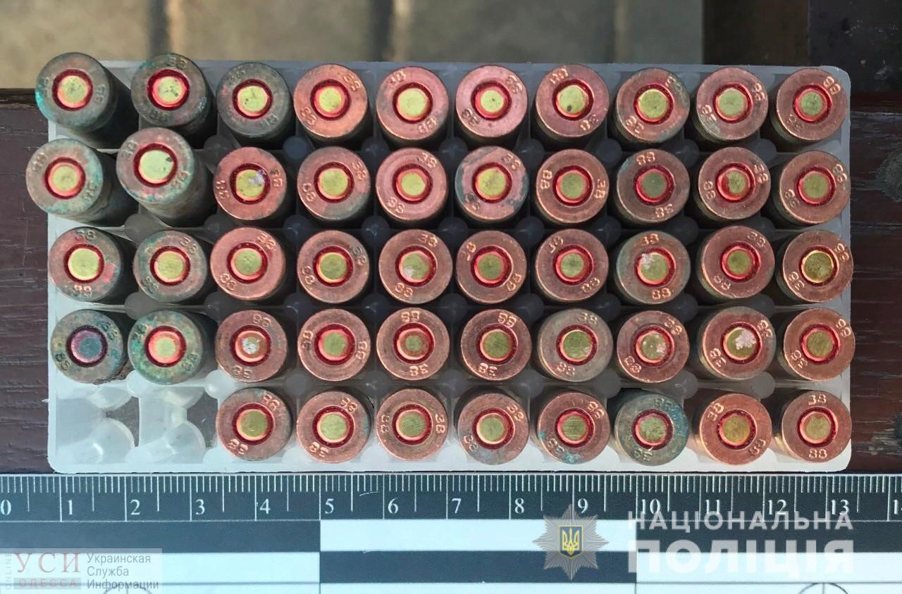 На одесском Привозе пытались продать полсотни патронов «фото»