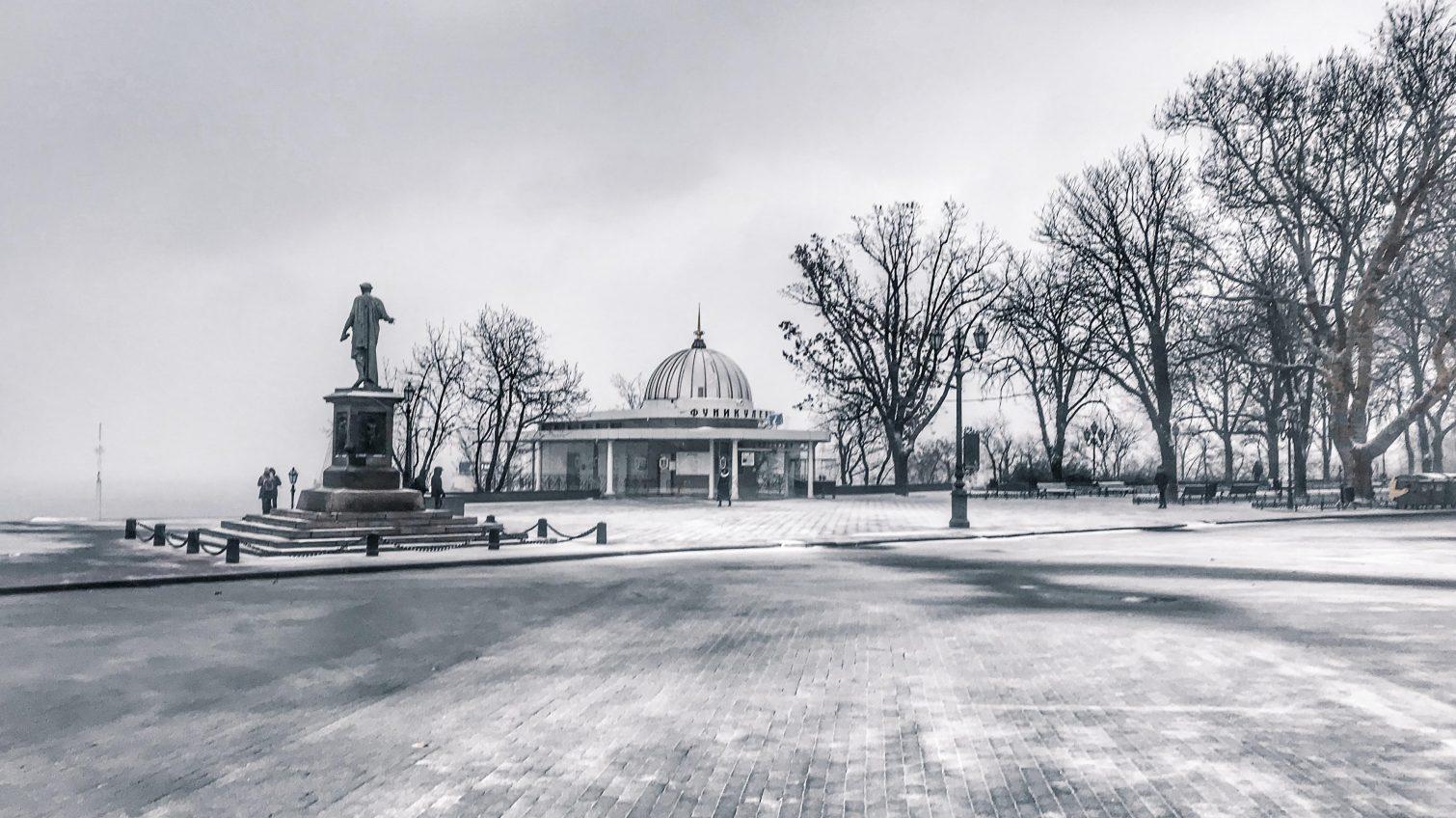 В Одессу идет зима: синоптики прогнозируют снег и вьюгу (документ) «фото»