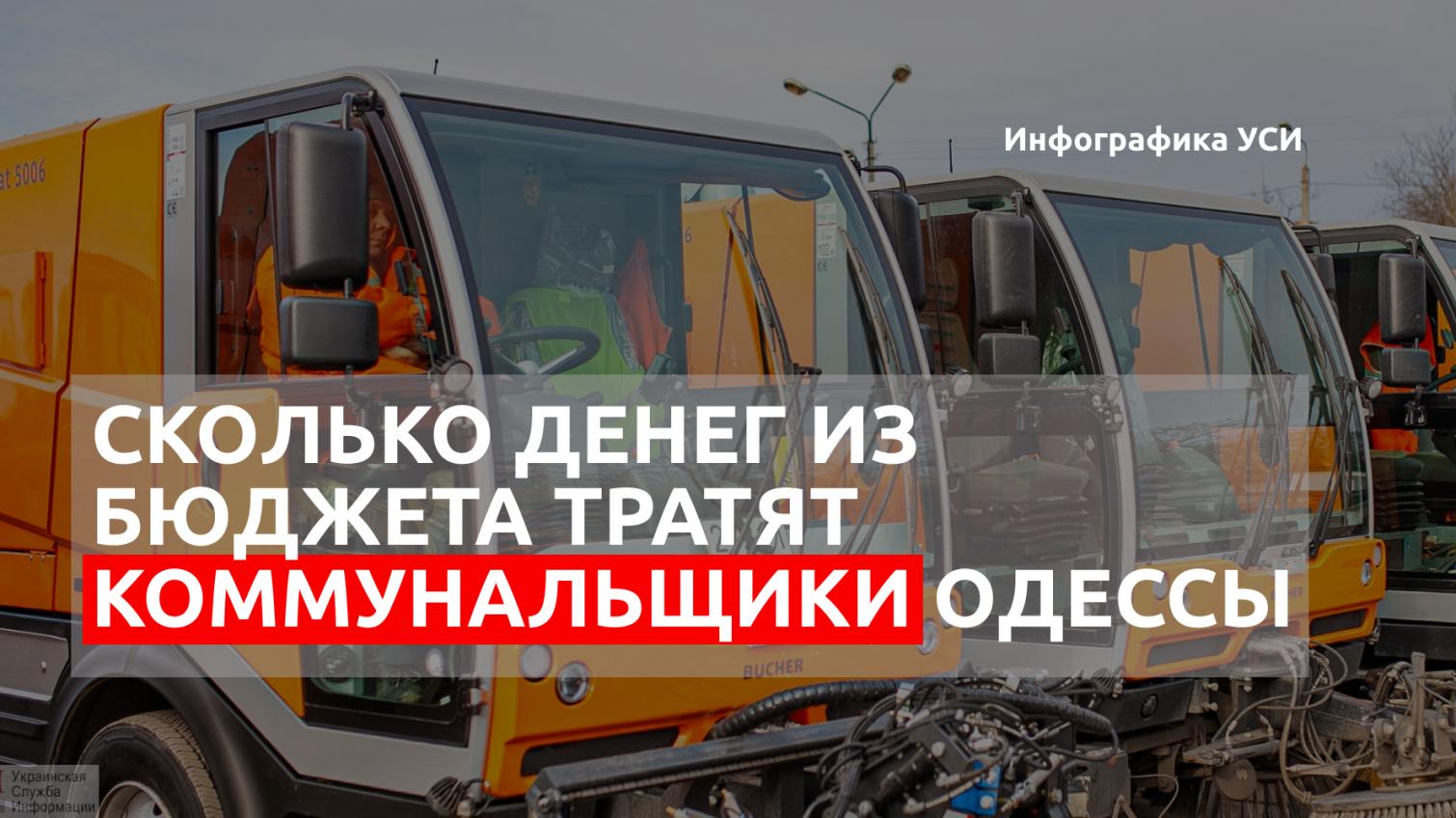 «50% прирост»: сколько денег из бюджета тратят на коммунальные предприятия Одессы (инфографика) «фото»