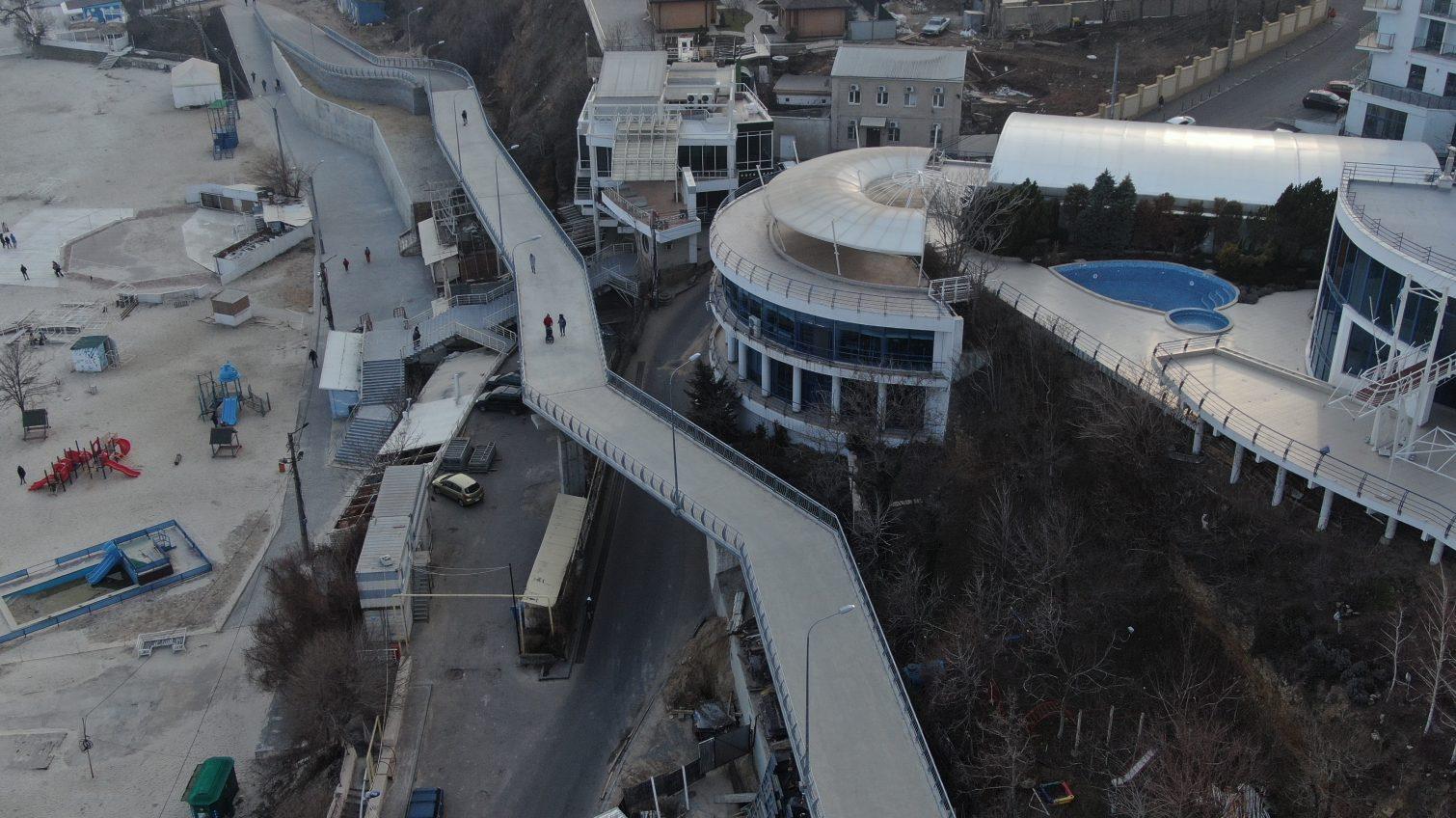 «Золотая» эстакада почти готова: за время строительства она подорожала на 14 миллионов (фото) «фото»