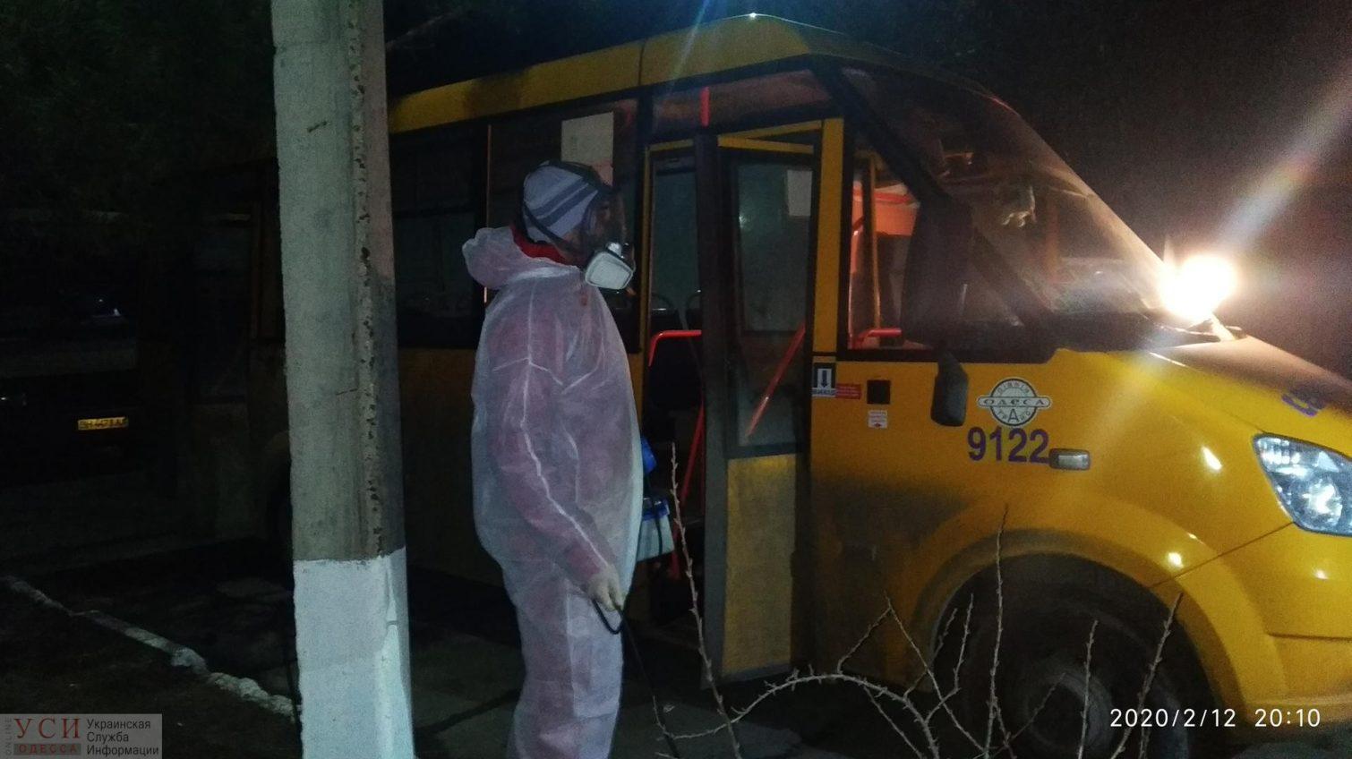 В Белгороде-Днестровском объявили войну коронавирусу: в маршрутках проводят санобработку (фото) «фото»