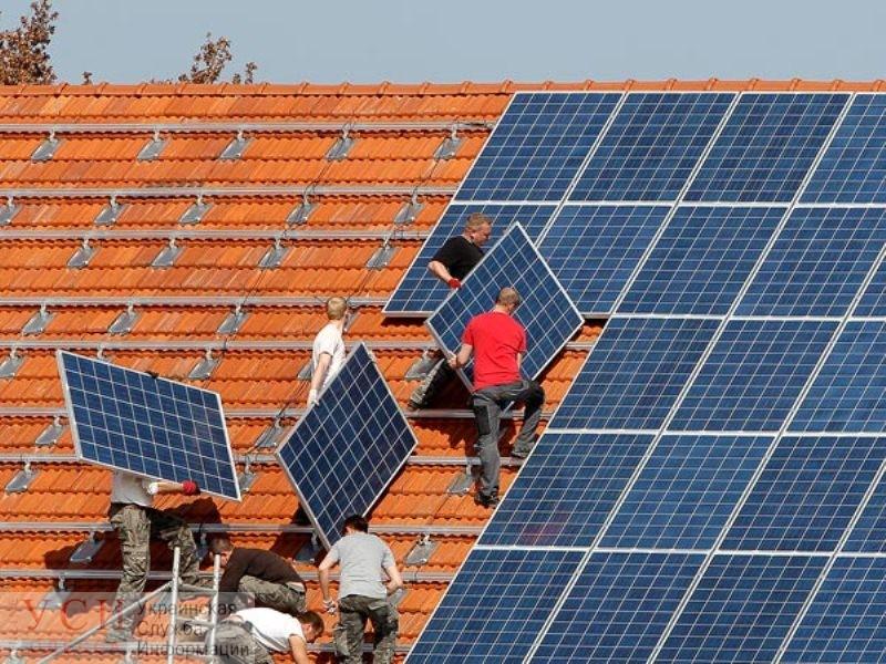 В Одессе на крышах домов хотят строить солнечные электростанции «фото»
