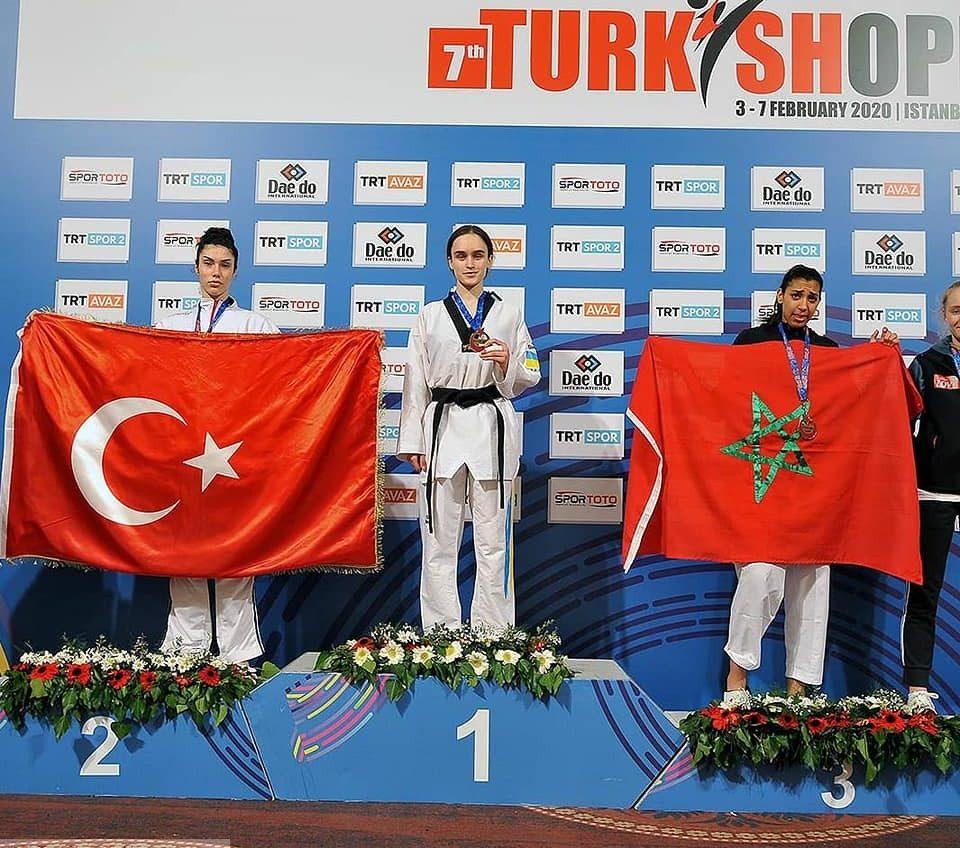 Одесситка выиграла международный турнир по тхэквондо в Стамбуле (фото) «фото»