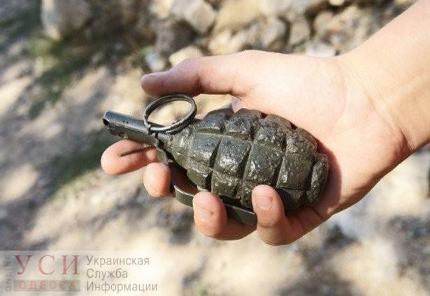 В Килийском районе парень пришел покупать алкоголь с гранатой «фото»