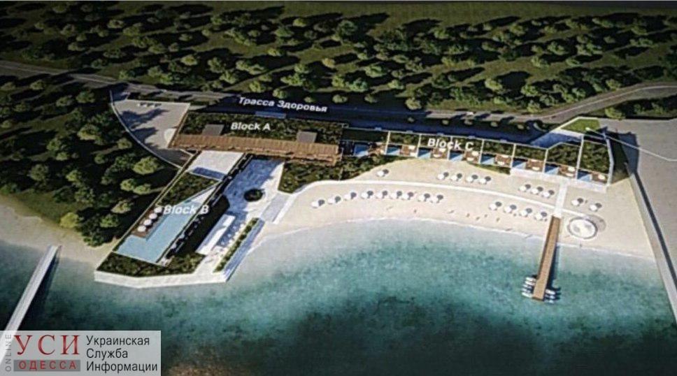 На Трассе здоровья на территории санатория возобновили работы: теперь пляж называют частным и «охраняемым» (видео) «фото»