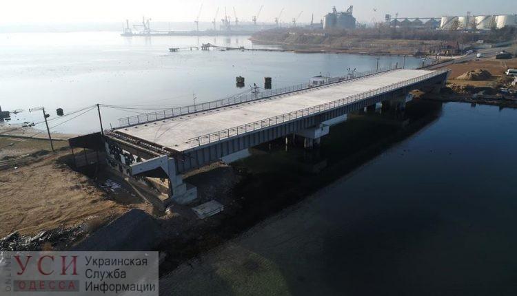 Строительство моста через Сухой лиман зашло в тупик: на достройку нужно более 100 миллионов, которых нет «фото»