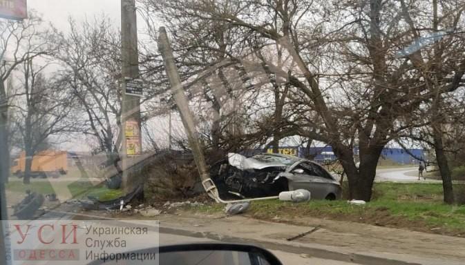 Авария на Овидиопольской дороге: есть пострадавший «фото»