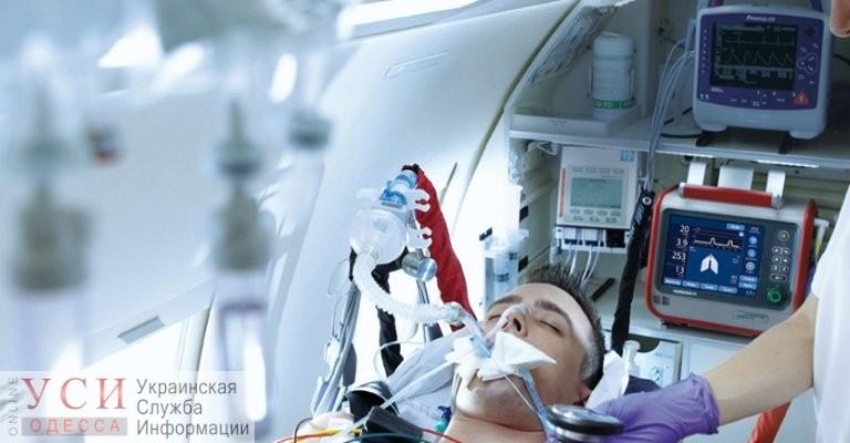 Одессе не хватает 30 аппаратов искусственной вентиляции легких «фото»