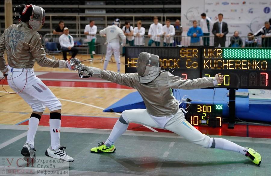 Одессит стал лучшим фехтовальщиком в Украине «фото»