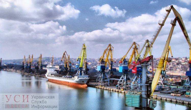 Порты Одесской области увеличили оборот контейнеров «фото»
