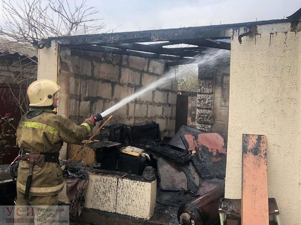 В районе Шкодовой горы горел частный дом: его быстро потушили (фото) «фото»
