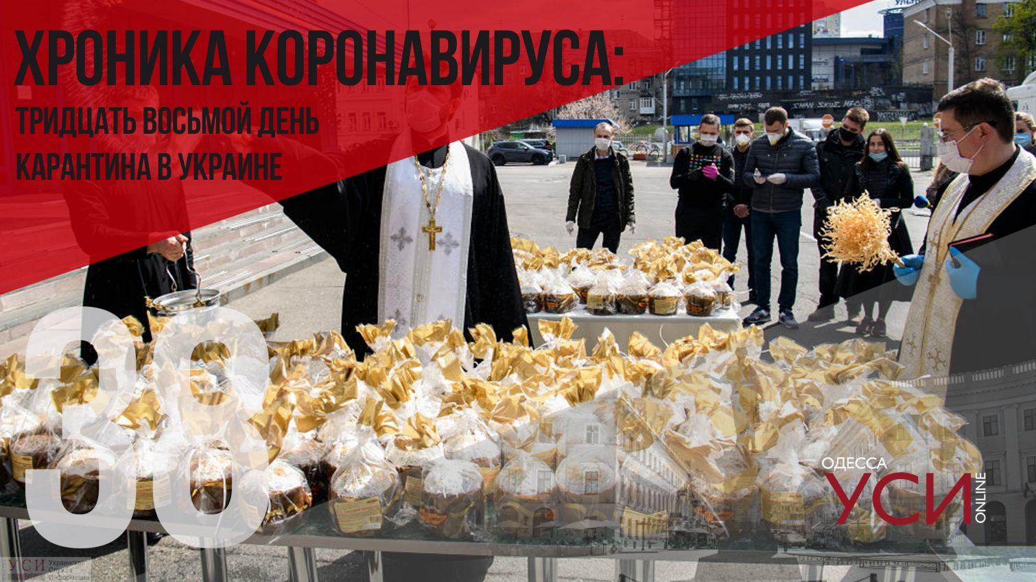В Украине свыше 5 тысяч пациентов с коронавирусом, 112 в Одесской области «фото»