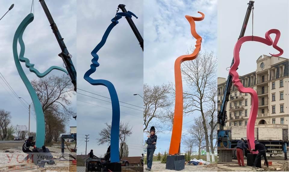 Фонтанка скульптурная: элитный пригород украсили необычными монументами (фото) «фото»