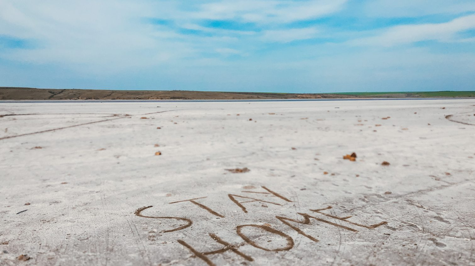 Куяльник в апреле: живописные виды «белоснежной пустыни» (фоторепортаж) «фото»