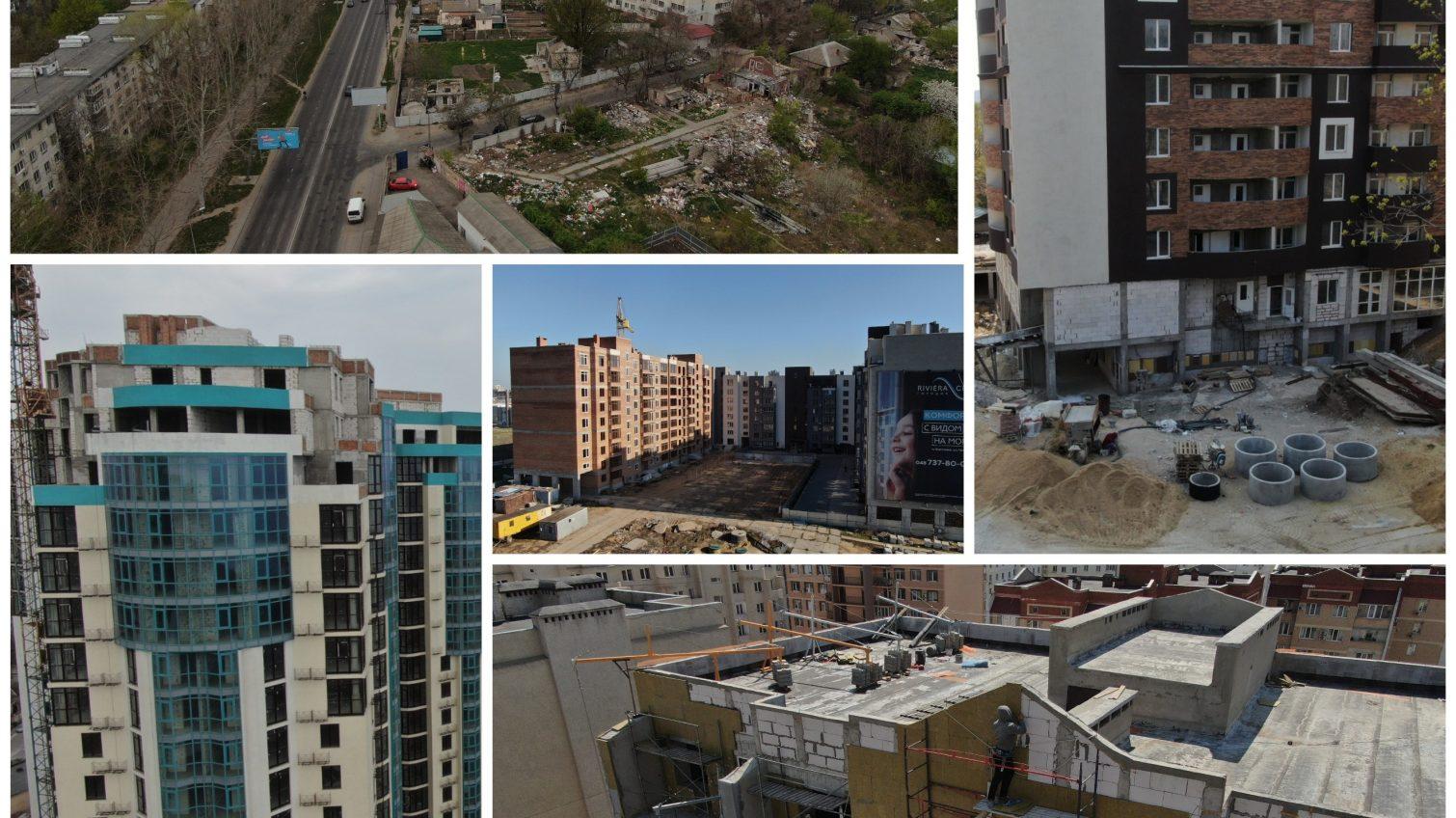 Застывшие небоскребы: ТОП-5 недостроев Одессы, в которых давно должны были жить люди (аэросъемка) «фото»