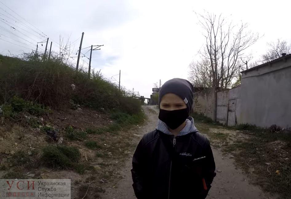Трогательное послание к мэру: школьник записал видео с просьбой убрать мусор со Слободки (видео) «фото»