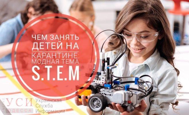 Чем занять детей на карантине: модная тема S.T.E.M (фото, видео) «фото»