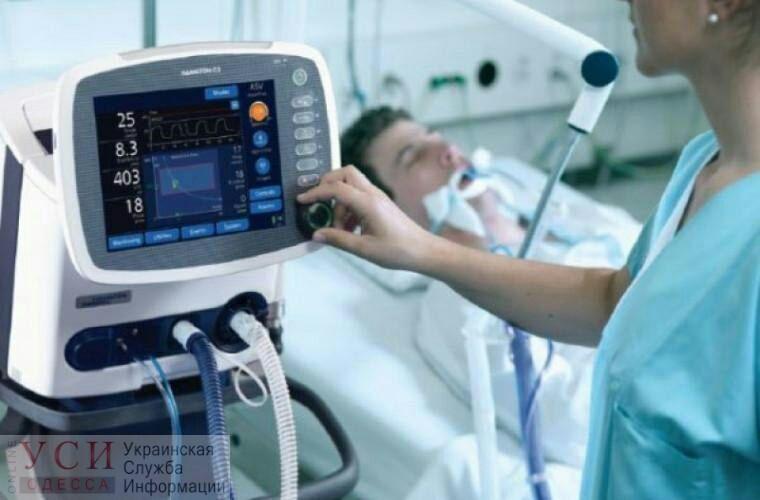 Более 12 миллионов из госбюджета хотят потратить на аппараты ИВЛ в Одесский военный госпиталь «фото»