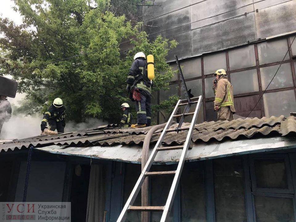 В Малиновском районе горел жилой дом (фото) «фото»