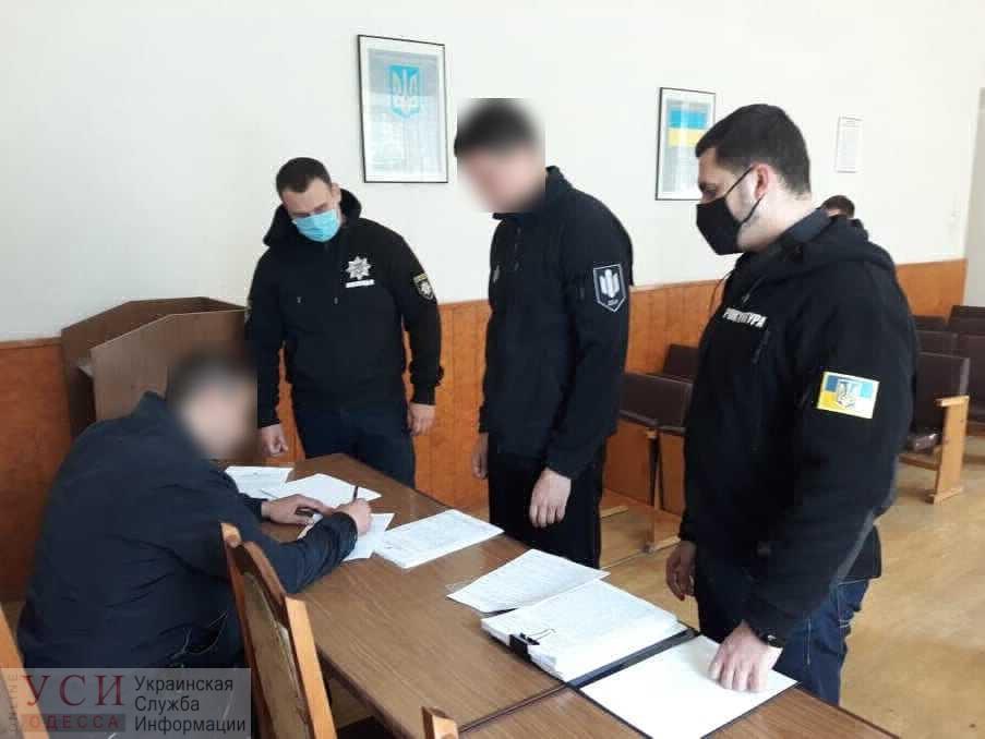 Одесскому полицейскому, который избивал детей, объявили о подозрении «фото»