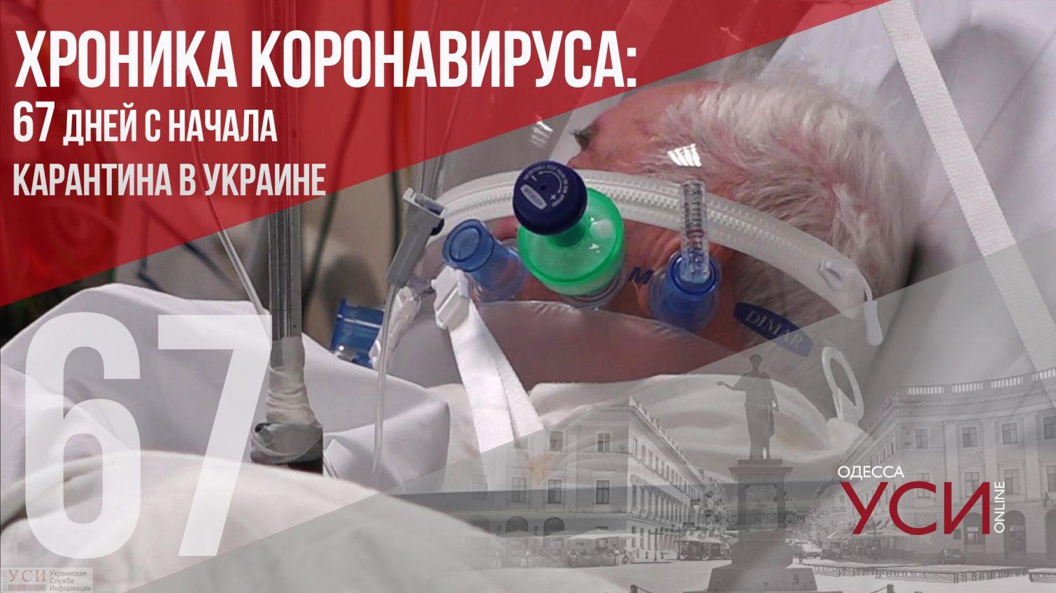 Хроника коронавируса: 67 дней с начала карантина ОБНОВЛЯЕТСЯ «фото»