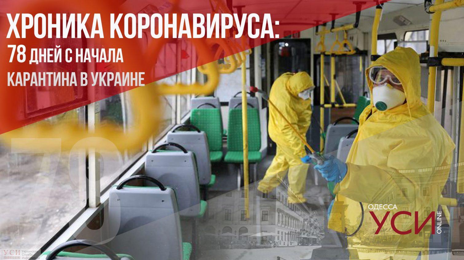 Хроника коронавируса: 78 дней с начала карантина в Украине ОБНОВЛЯЕТСЯ «фото»