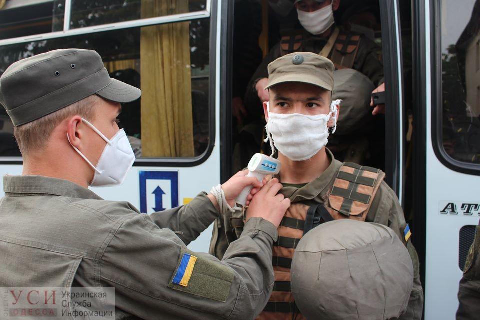 Одесские нацгвардейцы вернулись домой с Востока Украины (фото) «фото»