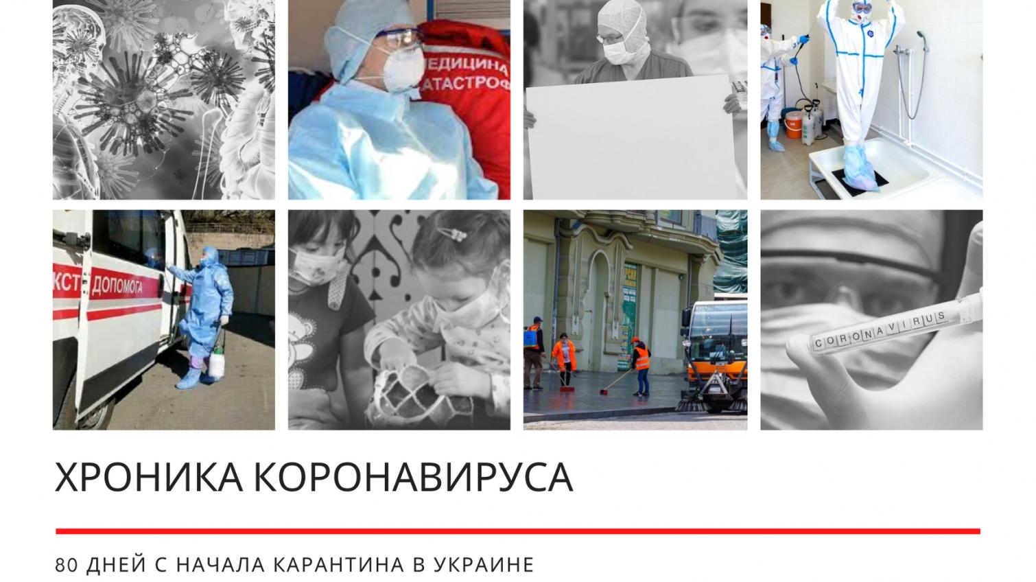 Хроника коронавируса: 80 дней с начала карантина в Украине ОБНОВЛЯЕТСЯ «фото»