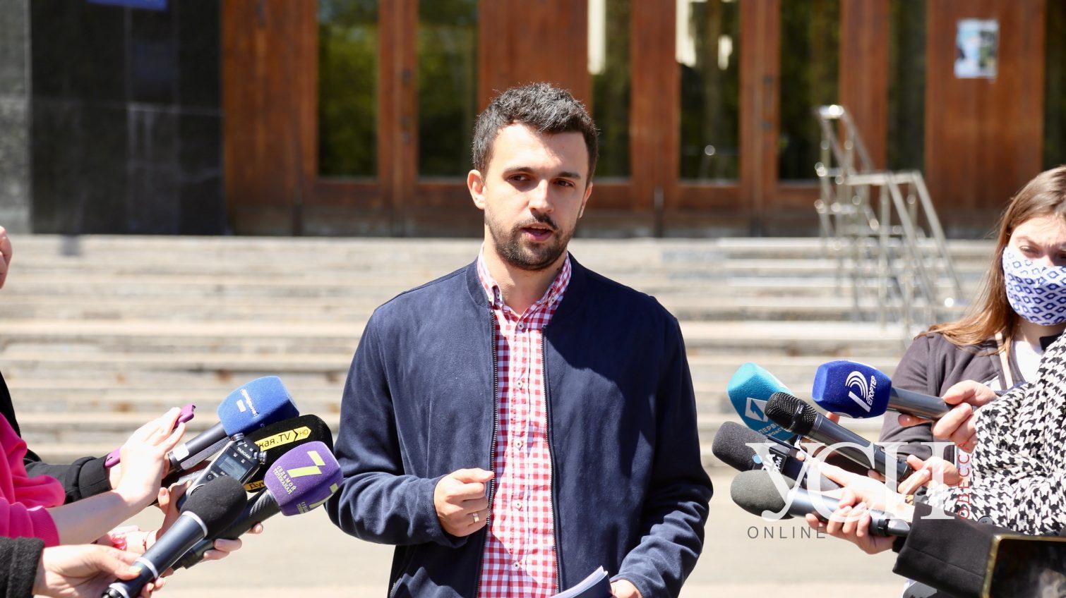 Зампред ОГА Свичинский считает свое увольнение политическим: по документам за задержки выплат медикам (фото) «фото»