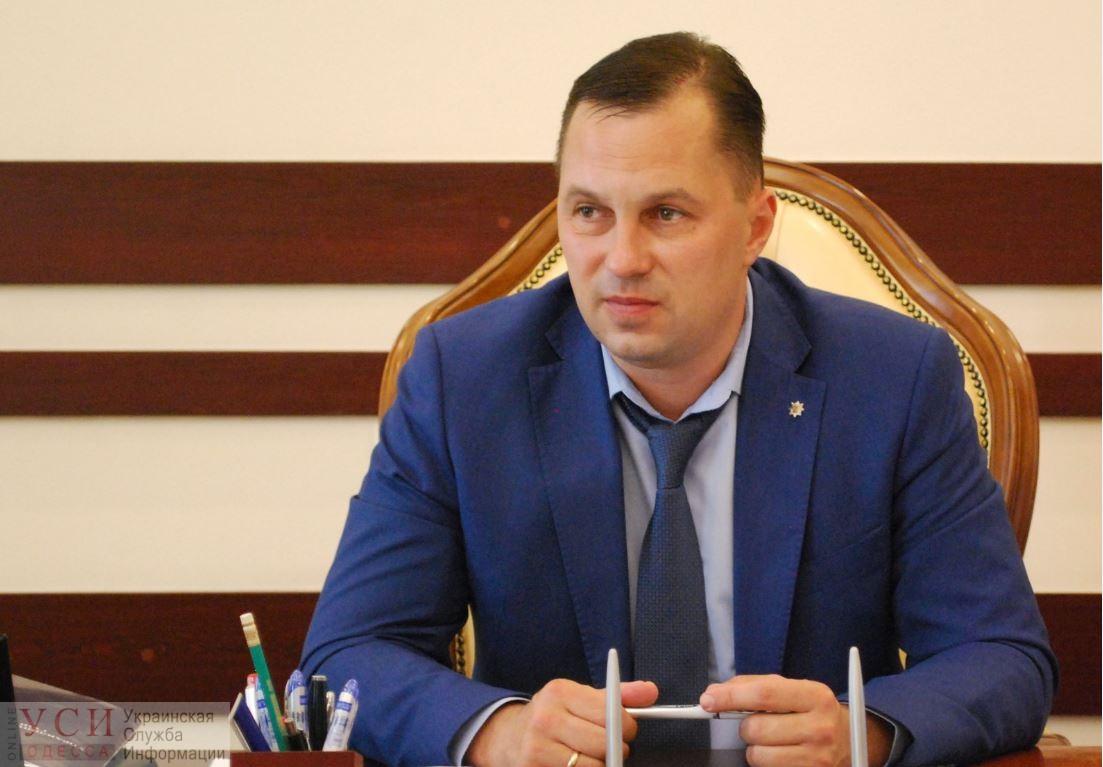 Экс-начальнику полиции в Одесской области Головину больше не нужно носить электронный браслет «фото»