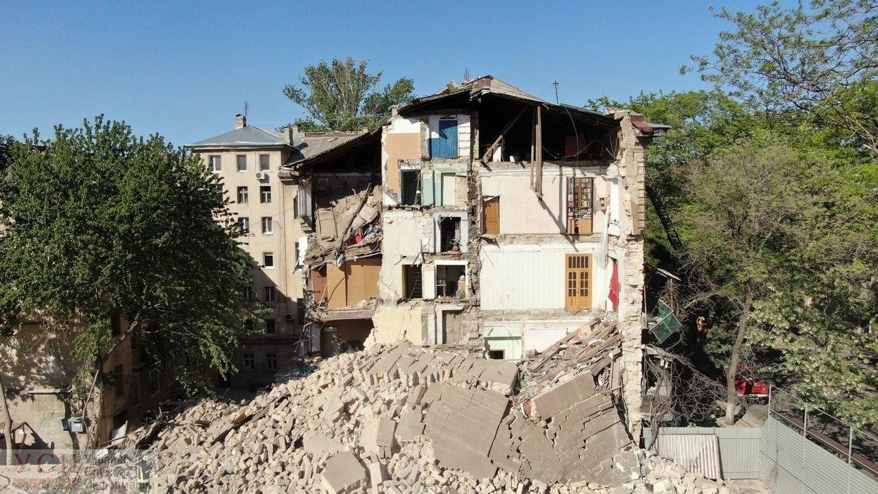 Обрушение жилого дома на Торговой: повреждены 8 квартир, людей под завалами нет (аэросъемка) ОБНОВЛЯЕТСЯ «фото»