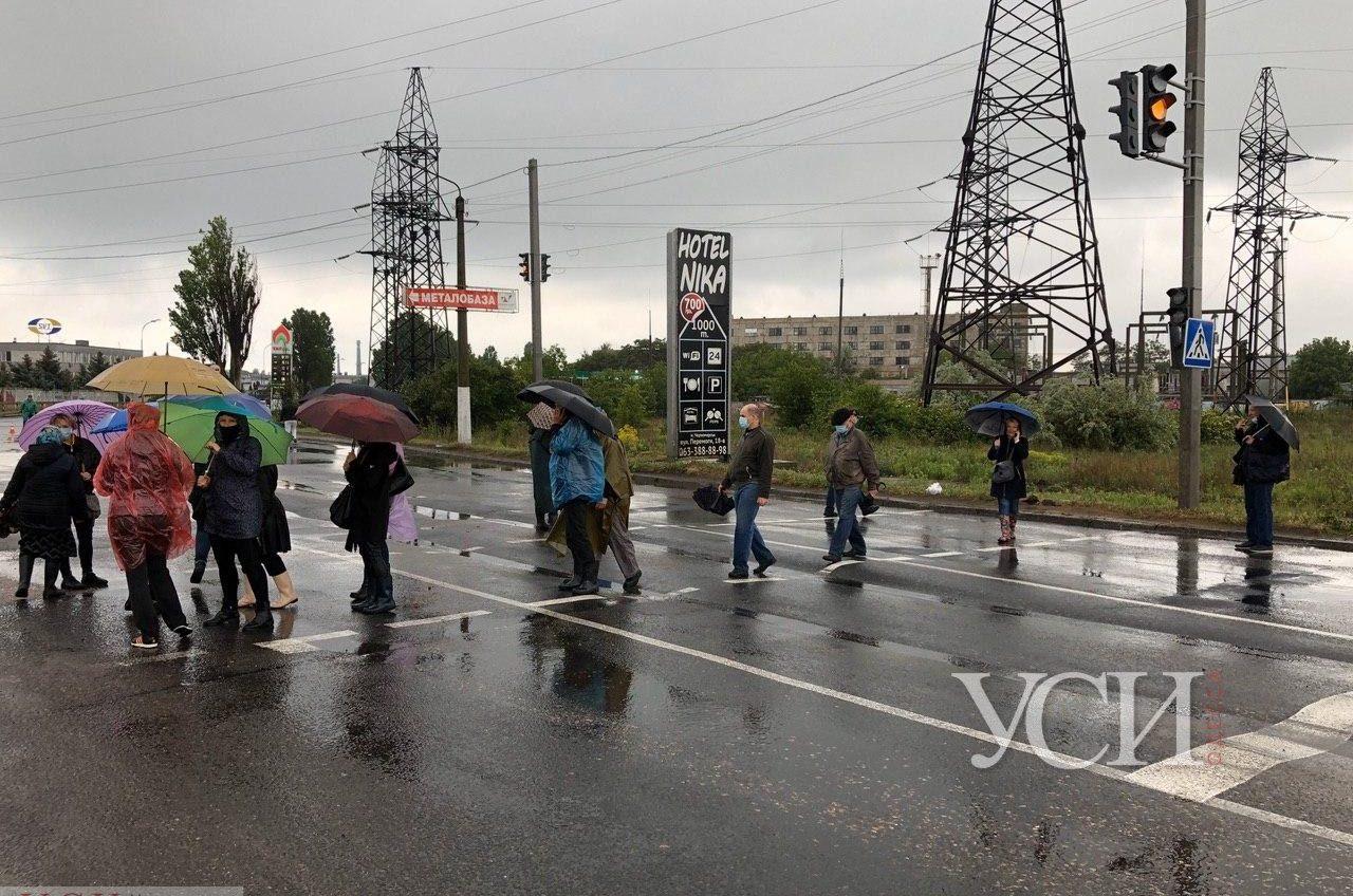 В Черноморске снова протестуют портовики (фото, прямая трансляция) ОБНОВЛЯЕТСЯ «фото»