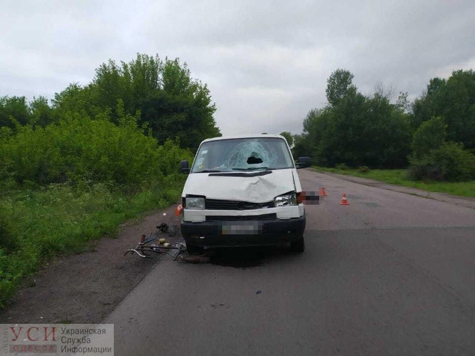 В Одесской области микроавтобус сбил велосипедиста: подросток погиб на месте (фото) «фото»