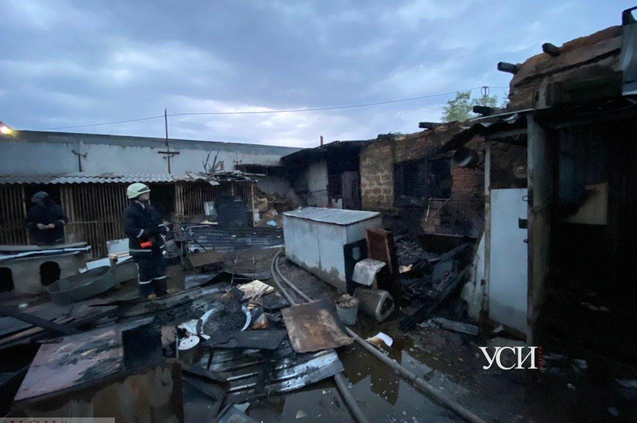 В Одессе горел приют для животных (фото, видео) ОБНОВЛЕНО «фото»