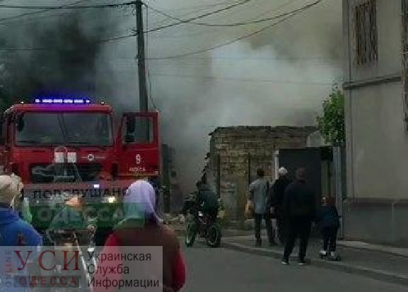 Пожар в районе Бреуса: горела пристройка «фото»