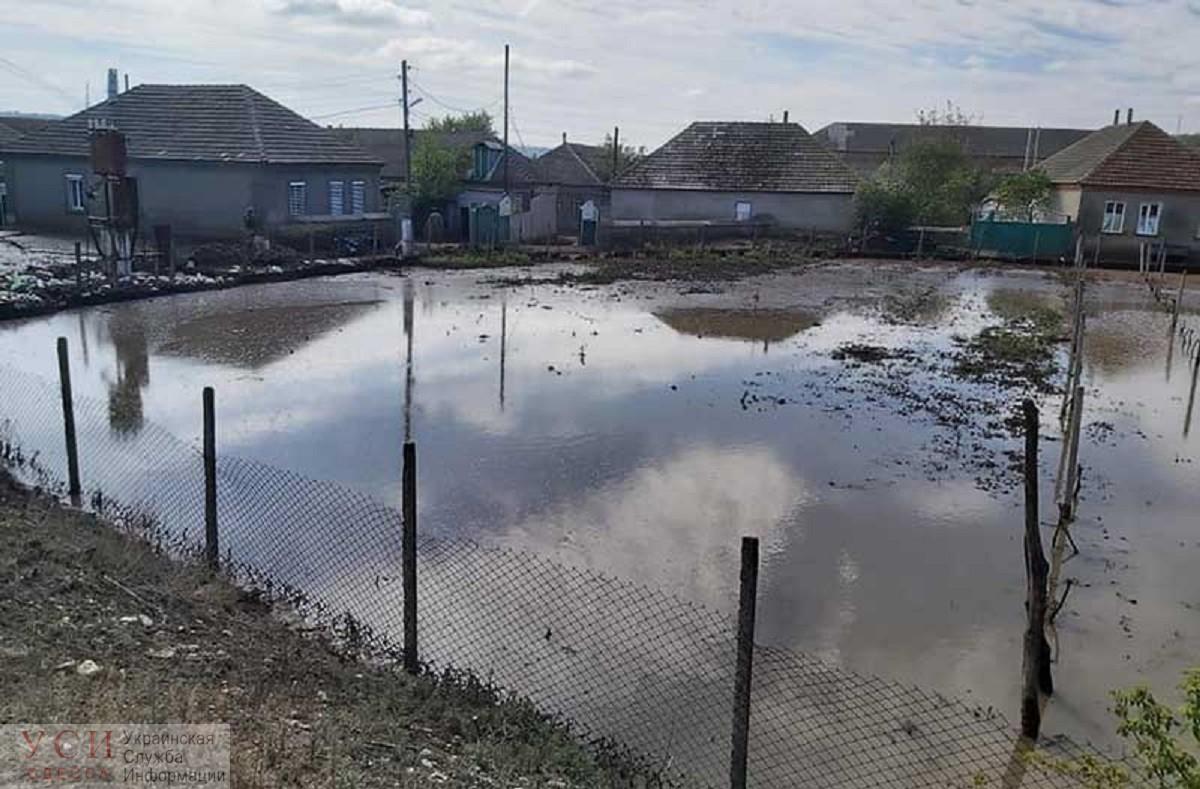 В селе Одесской области из-за непогоды объявили чрезвычайное положение «фото»