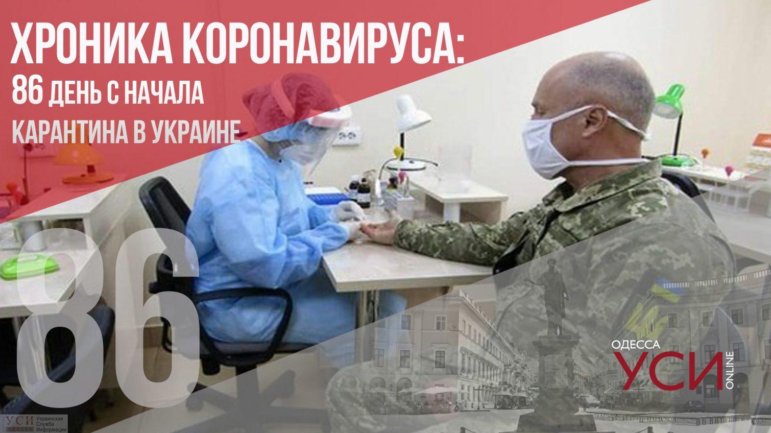 Хроника коронавируса: на 86 день карантина зафиксировали более 500 заболевших «фото»