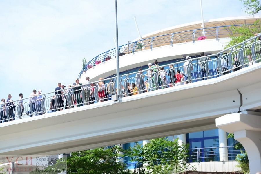 «Закрытое» открытие: мэр и чиновники Одессы презентовали «золотую» велоэстакаду на 10-й Фонтана (фото) «фото»