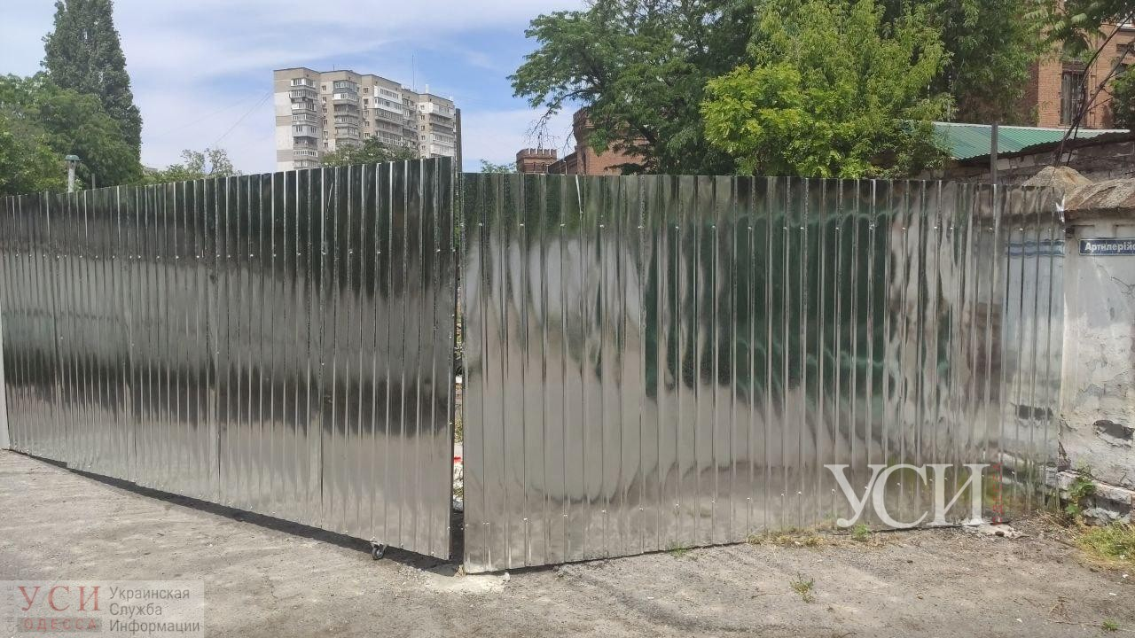 Одесситы возмущены строительством на Артиллерийской перед комплексом памятников и боятся обрушений (фото) «фото»