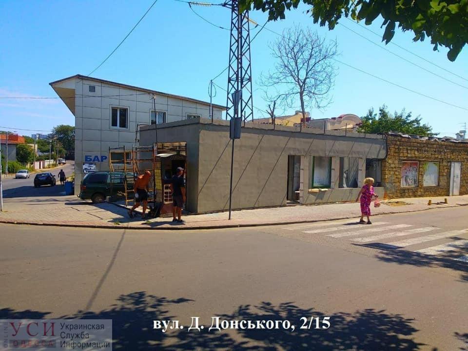 «Подросшие» МАФы, нахалстрои и стрип-клуб: за неделю в Одессе зафиксировали 14 незаконных строек (фото) «фото»
