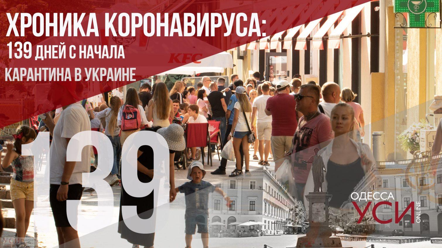 Хроника коронавируса: 139 дней с начала карантина в Украине, новый рост заболеваемости ОБНОВЛЯЕТСЯ «фото»