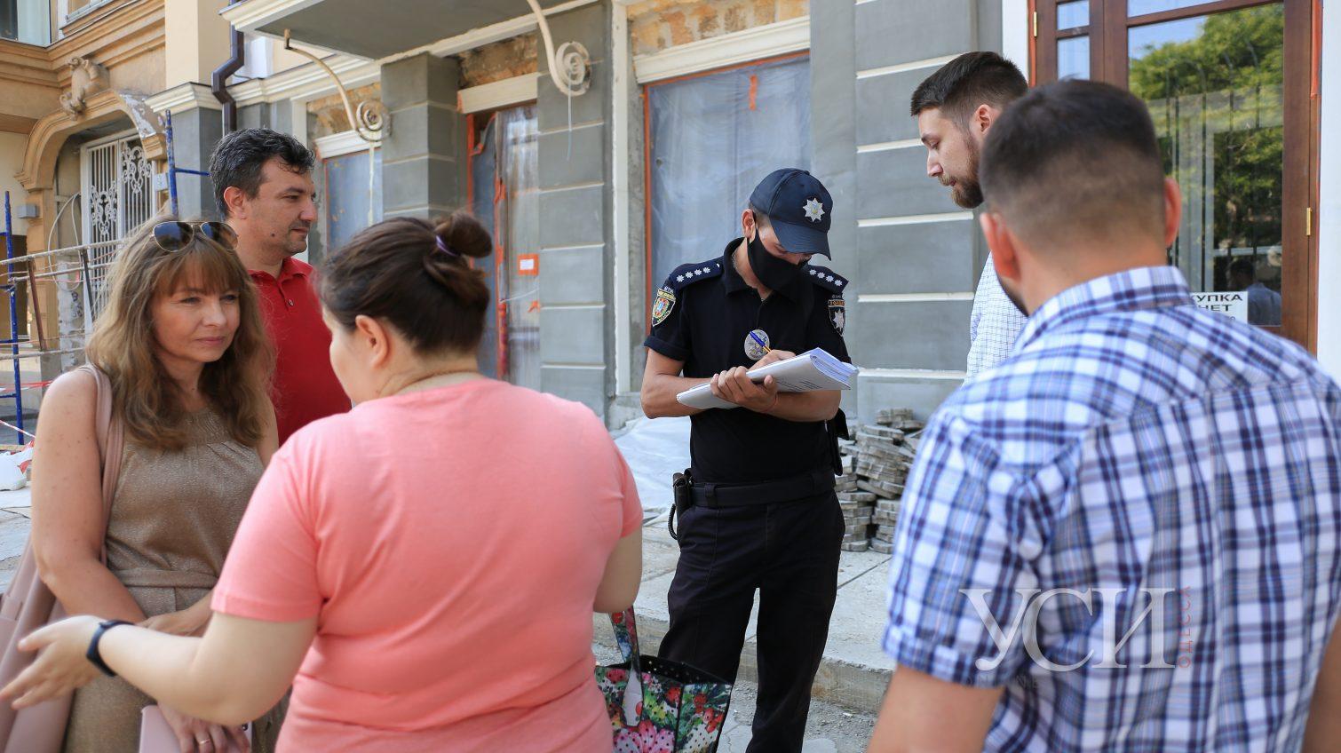 Инспекторы с полицией ищут владельца депутатского подвала, где затеяли незаконную стройку (фото) «фото»