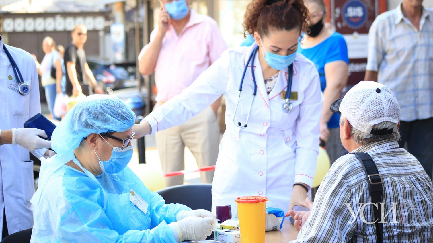 В Одессе и области можно бесплатно пройти тесты на гепатит и ВИЧ «фото»