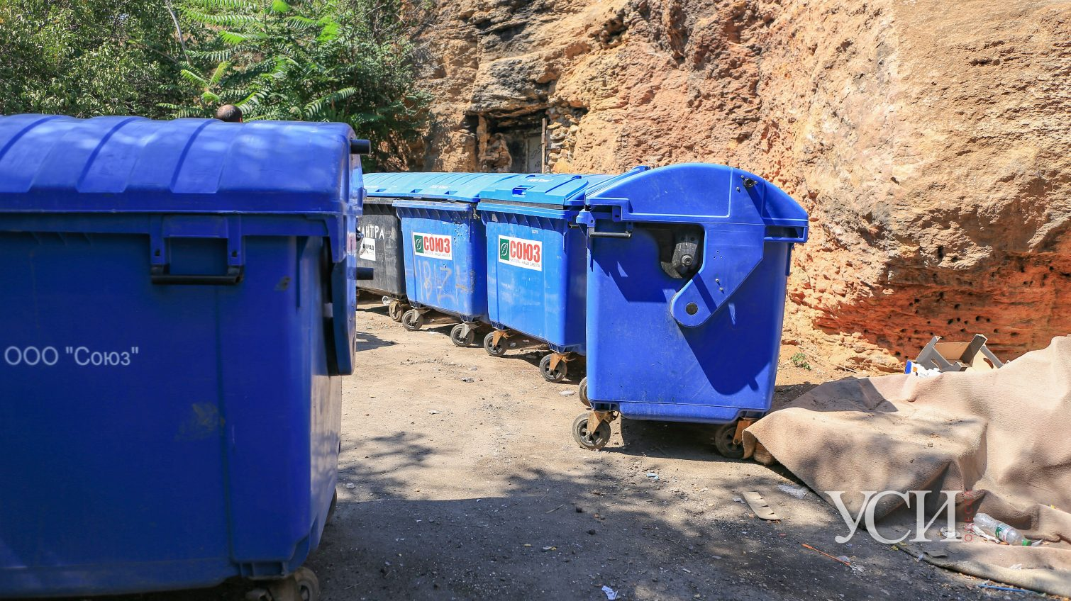 Вход в каменоломни на Трассе здоровья превратили в свалку: общественники жалуются на испорченный коммунальщиками проект (фото) «фото»