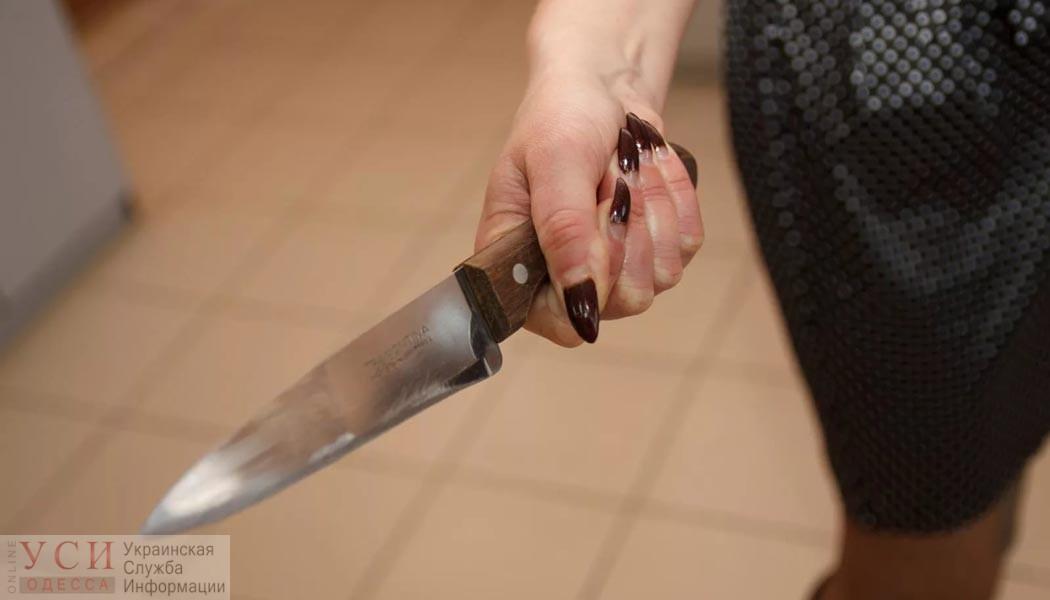 Нож в ответ на слова: в Одесской области женщина зарезала сожителя «фото»