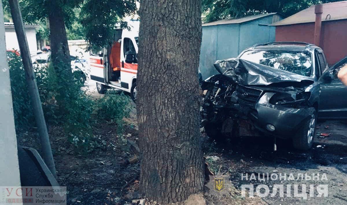 Смертельное ДТП на поселке Котовского: автомобиль врезался в дерево (фото) «фото»