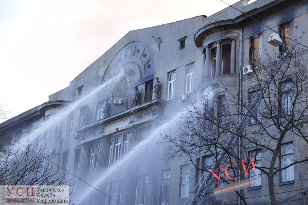 В Одессе до сих пор не определились с судьбой сгоревшего дома на Троицкой, зато запустили там БТИ «фото»