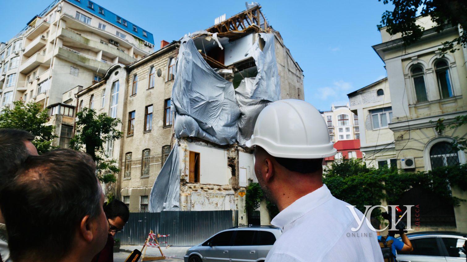 На Ясной начали подготовительные работы к демонтажу аварийной стены (фото) «фото»