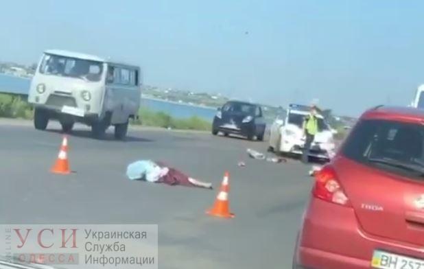 Смертельное ДТП под Одессой: погибла пожилая женщина (видео) «фото»