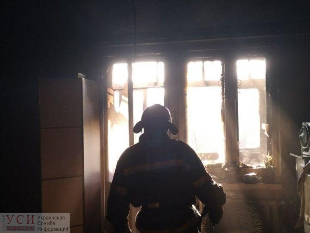 Пожарные спасли хозяина квартиры на Крымской «фото»